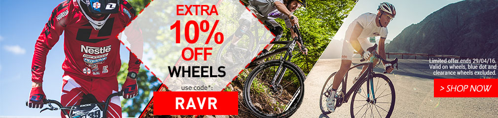 Extra 10% off wheels