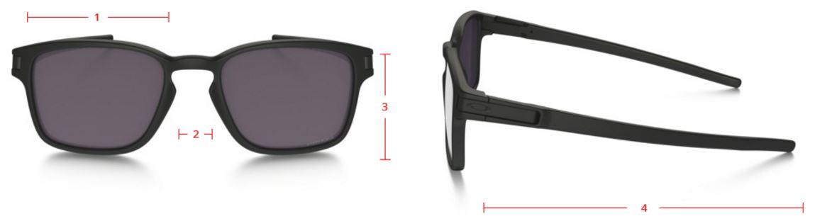 364f6a2a4d OAKLEY Sunglasses Latch Square Matte Black Prizm Daily Polarised Réf ...