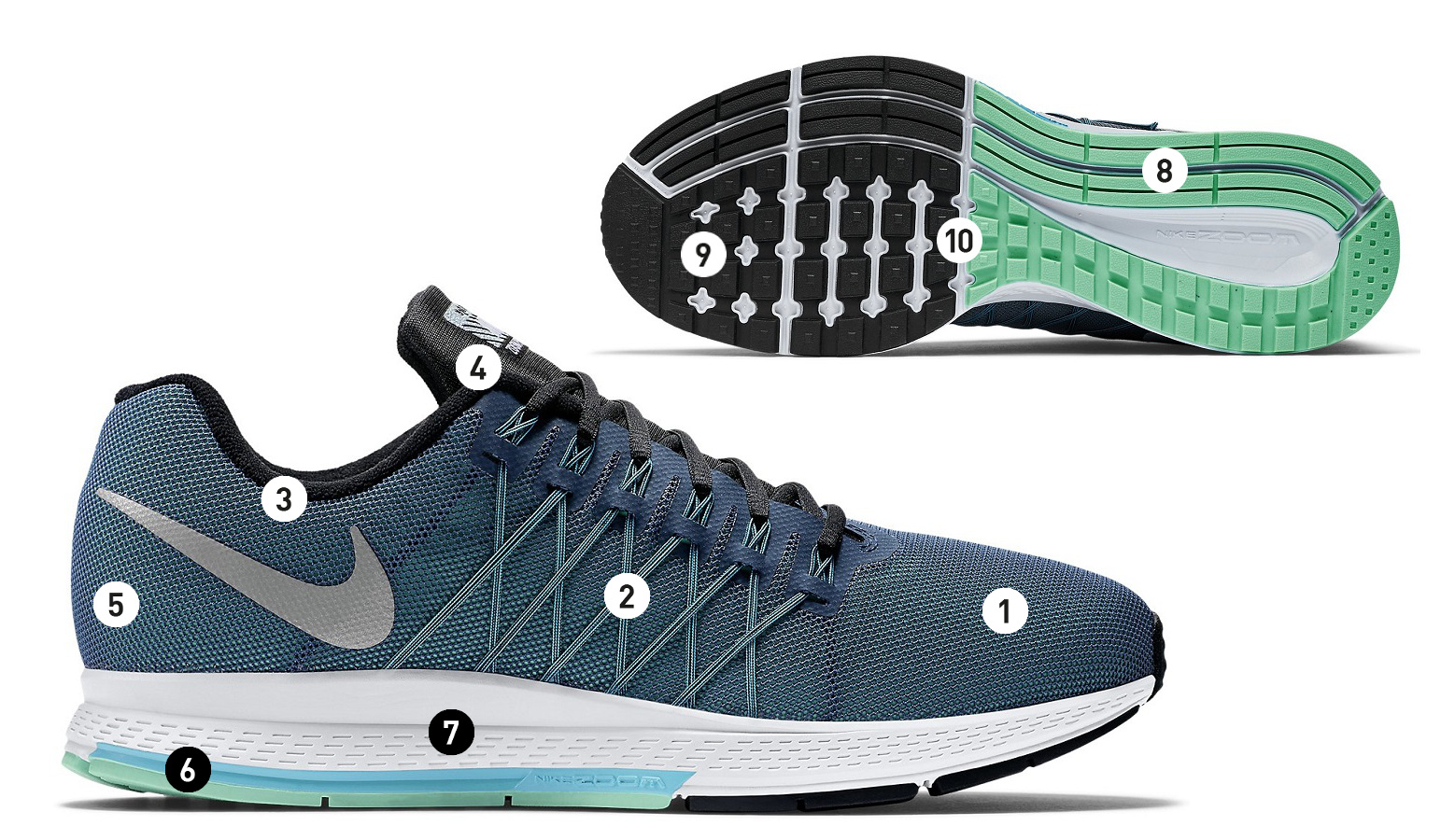 official photos ccdc3 99021 promo code for chaussures de running femme nike air zoom pegasus 32 flash  noir alltricks.