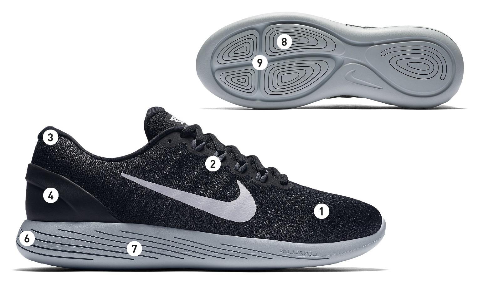 2df809d37346 Nike LunarGlide 9 Black