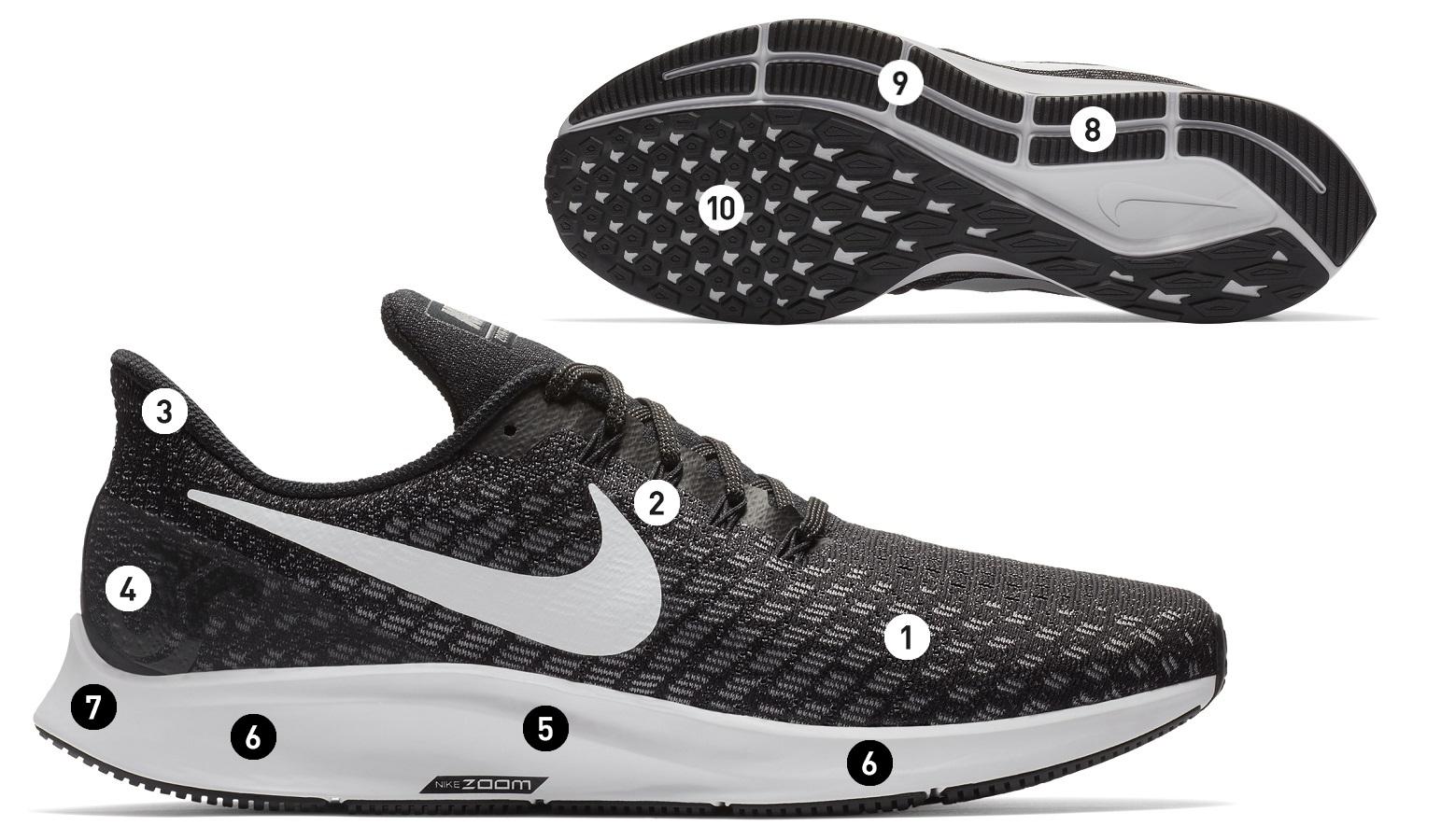Nike Shoes Air Zoom Pegasus 35 Black Men