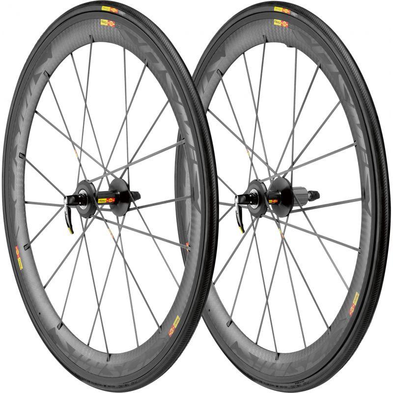 mavic paire de roues cosmic carbon slr version campagnolo pneus yksion pro alltricks. Black Bedroom Furniture Sets. Home Design Ideas