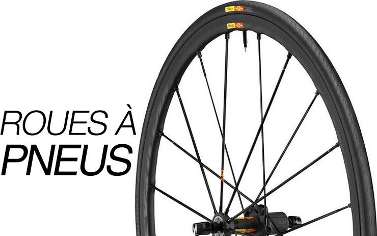 Roues à pneus