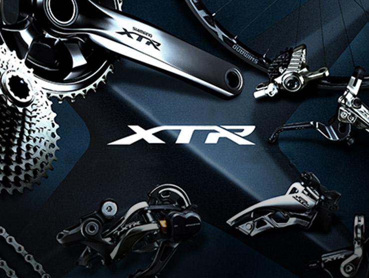 Groupe Shimano XTR