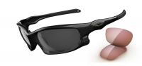 OAKLEY lunettes Split jacket Polished Black/Black Iridium Polarized Ref 9099-04