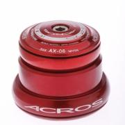 ACROS Jeu de direction AX-06R Ahead Conique réducteur 1''1/8 Rouge