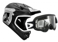 Pack 661 SIXSIXONE 2012 Casque COMP SHIFTED Noir Mate Taille M + Oakley masque O frame Black clear Ref 01-600
