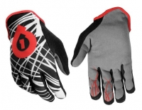 661 SIXSIXONE Paire de Gants REV WIRED 2013 NOIR/ROUGE
