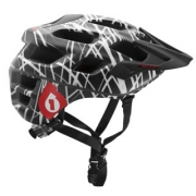 661 SIXSIXONE 2013 Casque RECON WIRED Noir Rouge