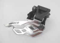SRAM D�railleur Avant X7 2x10V Collier Haut 31.8/34.9mm Tirage Haut/Bas