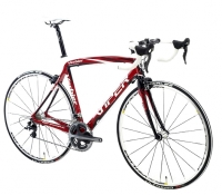 VIPER 2012 V�lo Complet VERBIER Carbone Ultegra Compact Taille 53 Rouge