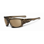 OAKLEY Lunettes TEN Brown Smoke w/Tungsten Irid Polarized Ref OO9128-04