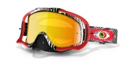 OAKLEY Masque CROWBAR MX TLD Discharge Red w/Fire Ref 57-927