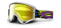 OAKLEY Masque XS O-FRAME TLD Zap Silver w/24K Ref 57-929
