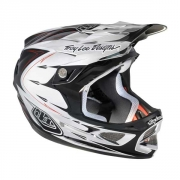TROY LEE DESIGN 2013 Casque D3 PALMER CHROME