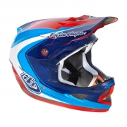 TROY LEE DESIGN 2013 Casque D3 MIRAGE Bleu