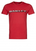 OAKLEY TeeShirt VILLAGE PARK Red Line