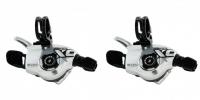 SRAM 2013 Commandes vitesses Paire de Triggers X0 SILVER 3 x 10 V