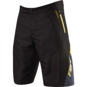 FOX 2013 Short ATTACK Q4 Noir/Jaune