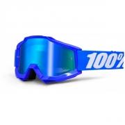 100% Masque ACCURI Reflex Bleu écran Bleu