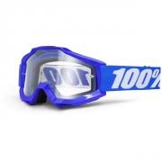 100% Masque ACCURI Reflex Bleu écran transparent