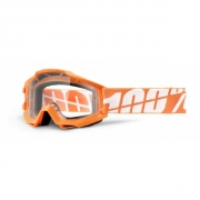 100% Masque ACCURI Orange Caltrans écran transparent