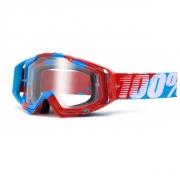 100% Masque RACECRAFT Supersonic écran transparent