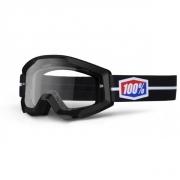 100% Masque STRATA Suit Noir écran transparent