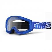 100% Masque STRATA Bleu écran transparent