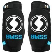 BLISS Paire de coudières ARG Noir Bleu