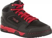 TEVA Paire de chaussures LINKS MID Pro Modèle Sam Pilgrim Noir Rouge