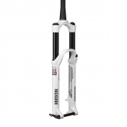 ROCKSHOX 2014 Fourche PIKE RCT3 Dual Position Air 150 mm 29'' Axe 15 mm conique Blanc
