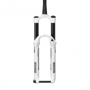 ROCKSHOX 2014 Fourche PIKE RCT3 Dual Position Air 26'' 160-130mm Axe 15mm Conique Blanc