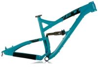 YETI 2013 Cadre SB 95 Aluminium Turquoise + Amortisseur Fox CTD Adjust