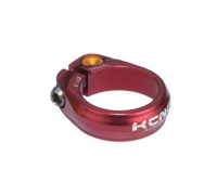 KCNC Collier de Selle �crou ROAD PRO SC9 Rouge 34.9 mm 13 gr