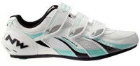 NORTHWAVE 2012 Paire de Chaussures FIGHTER Blanc/Bleu Taille 44