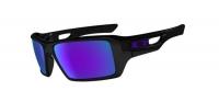OAKLEY lunettes EYEPATCH 2 Polarized Black w/Violet REF oo9136-06