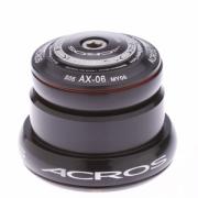 ACROS Jeu de direction AX-06R Externe Conique réducteur 1''1/8 Noir