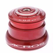 ACROS Jeu de direction AX-22R Conique Réducteur Rouge