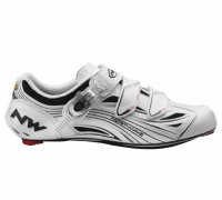 NORTHWAVE 2011 Paire de Chaussures TYPHOON EVO SBS White Taille 41