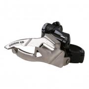 SRAM D�railleur Avant X0 3X10V Collier Bas 31.8/34.9mm Tirage Bas