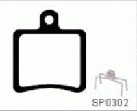 ASHIMA Paire de Plaquettes HOPE mini (2pot) Semi Métalliques