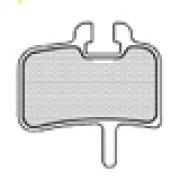 ASHIMA Paire de Plaquettes HAYES HFX/Mag 9 hyd/MX 1 mec/Promax/Imperial DX04
