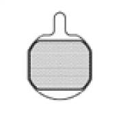 ASHIMA Paire de Plaquettes HAYES gx-2 / mx-2 / mx 3 mecanique Semi Métalliques