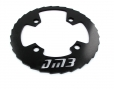 DM3 Bash Guard Alu 36-38 Dents Noir