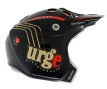 URGE Casque REAL JET Black/Gold/Red