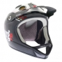 URGE 2014 Casque ARCHI-ENDURO AIRLINES Noir / Blanc