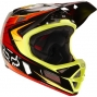 FOX Rampage Pro Carbon Helmet Red/Yellow XL