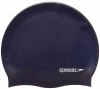 SPEEDO Swimcap Plain Flat Silicone Black