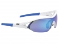 BBB Sunglasses IMPACT White and Blue Iridium